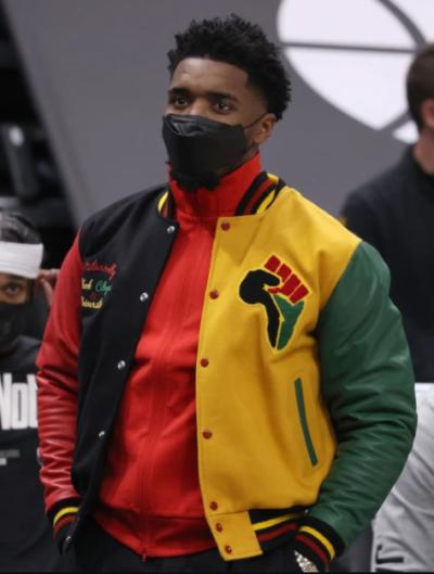 donovan mitchell hbcu pride lettermen jacket