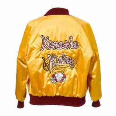 home alone gus polinski kenosha kickers yellow bomber jacket