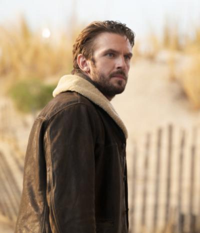 ottoz solos tv series dan stevens brown leather jacket