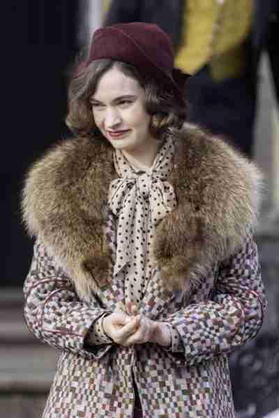 the pursuit of love linda radlett coat