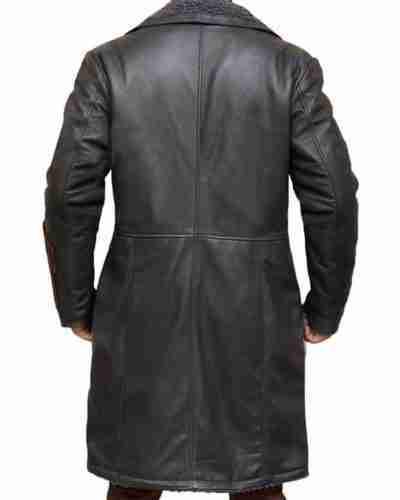 Captain Boomerang Jai Courtney The Suicide Squad Black Leather Coat