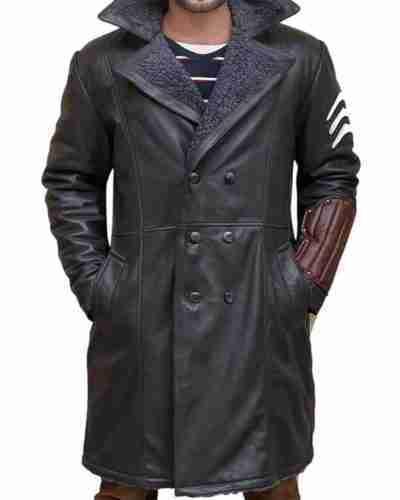 Captain Boomerang Jai Courtney The Suicide Squad Leather Coat