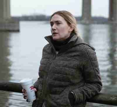 Mare Of Easttown Kate Winslet Gray Cotton Jacket