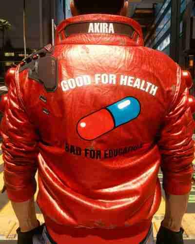 cyberpunk 2077 akira jacket
