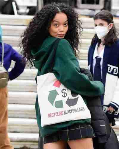 gossip girl zoya lott green hoodie