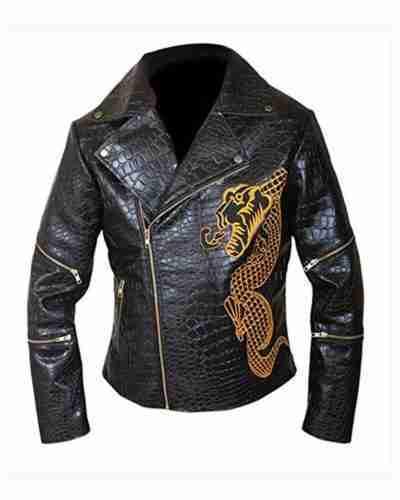 killer croc the suicide squad waylon jones double rider leather jacket