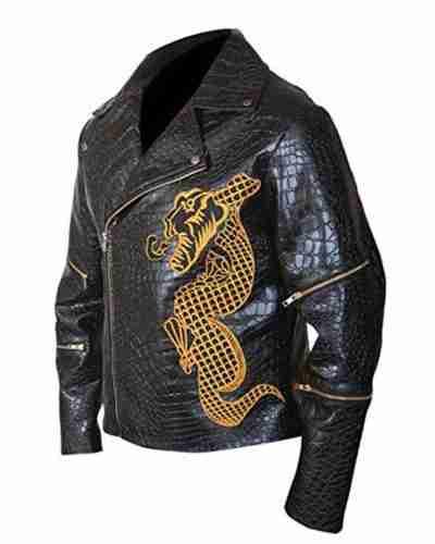 killer croc the suicide squad waylon jones leather jacket