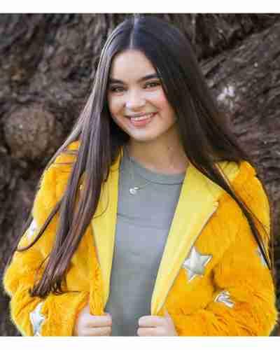 landry bender yellow fur jacket