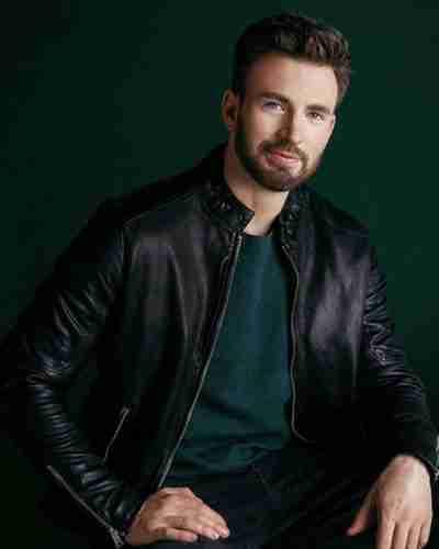 live smarter for a better world chris evans leather jacket