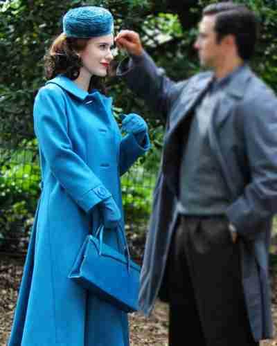 the marvelous mrs. maisel season 4 rachel brosnahan trench coat