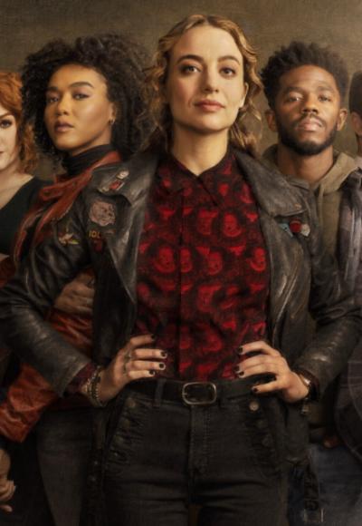 the republic of sarah stella baker black leather jacket