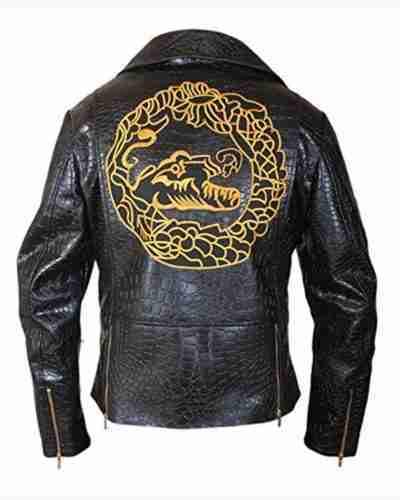 waylon jones the suicide squad killer croc leather jacket