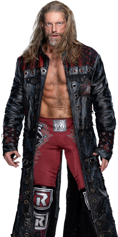 wwe royal rumble edge leather coat