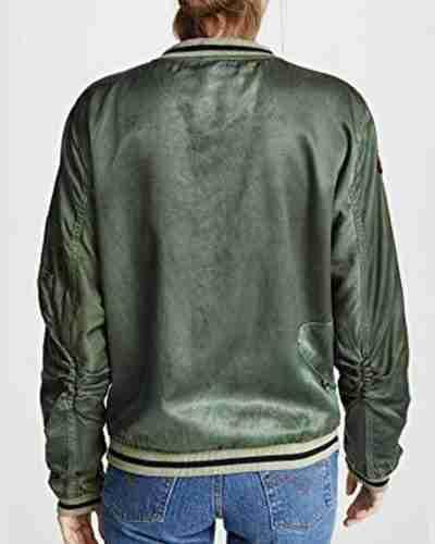 you season 02 victoria pedretti love quinn satin jacket