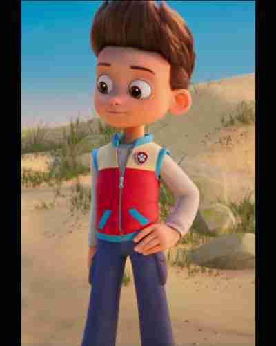 Animated 2021 Paw Patrol The Movie Vest