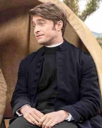 Daniel Radcliffe Miracle Workers Season 3 Coat