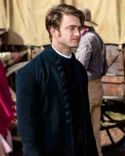Miracle Workers Season 03 Daniel Radcliffe Coat