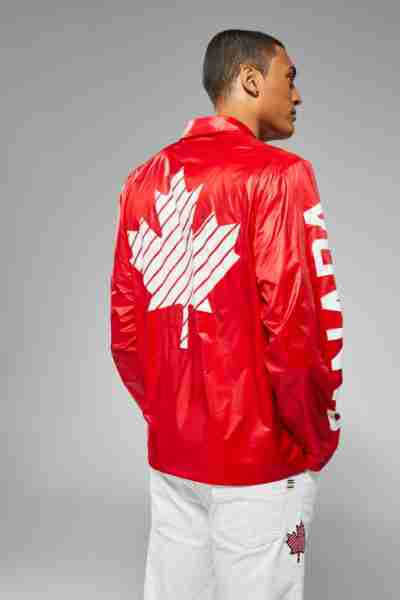 Olympic 2021 Team Canada Red Zipper Jacket