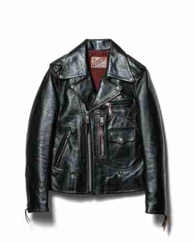 d-pocket double rider jacket