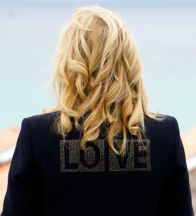 first lady love black jacket