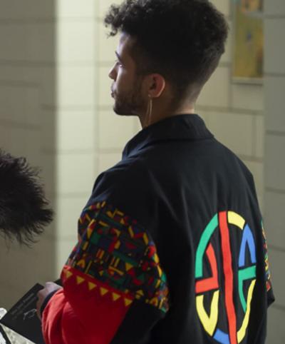 high school musical s02 jordan fisher colorful jacket