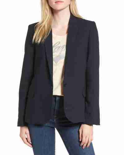 jill biden first lady love black jacket