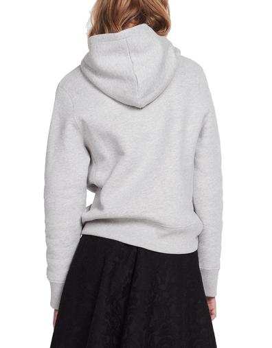 just love u embroidered hoodie