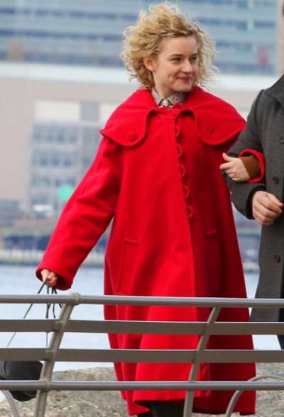 modern love julia garner coat