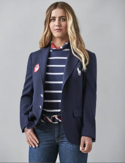 olympic 2021 team usa blue blazer jacket