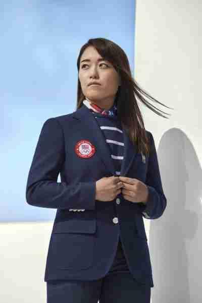 olympic 2021 team usa blue jacket