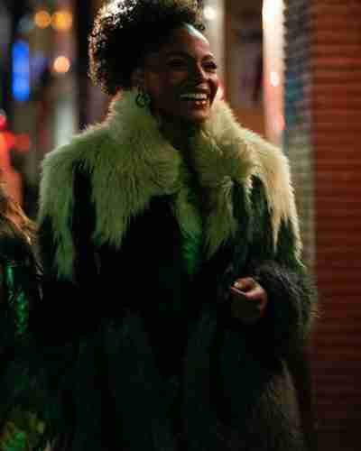 sasha snow sexlife margaret odette fur coat