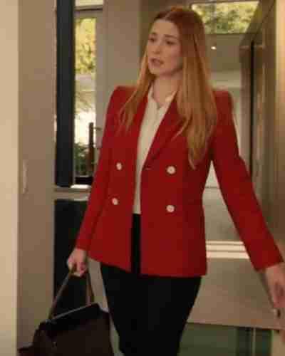 virgin river season 3 melinda monroe red blazer for women
