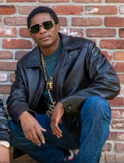 BMF Black Leather Jacket