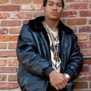 BMF Lil Meech Black Leather Jacket