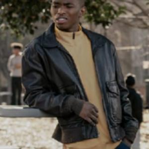 BMF S01 Jasun Jabbar Wardlaw Black Leather Jacket