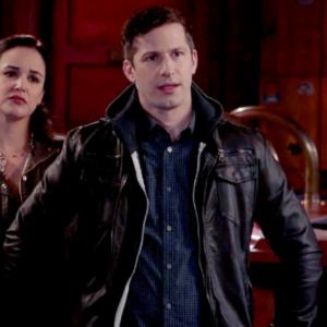 Brooklyn Nine-Nine Andy Samberg Black Leather Jacket