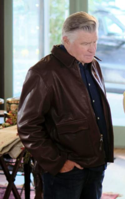Chesapeake Shores Treat Williams Leather Jacket