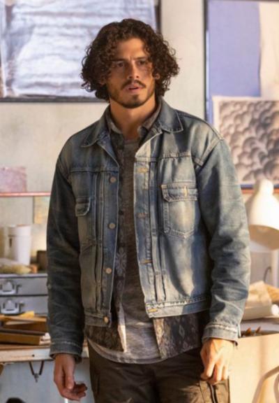 Good Trouble Tommy Martinez Blue Denim Jacket