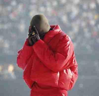 Kanye West Yeezy Gap Red Jacket