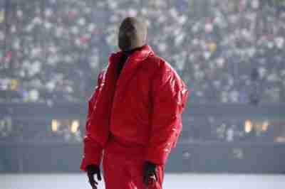 Kanye West Yeezy Gap Red Round Jacket
