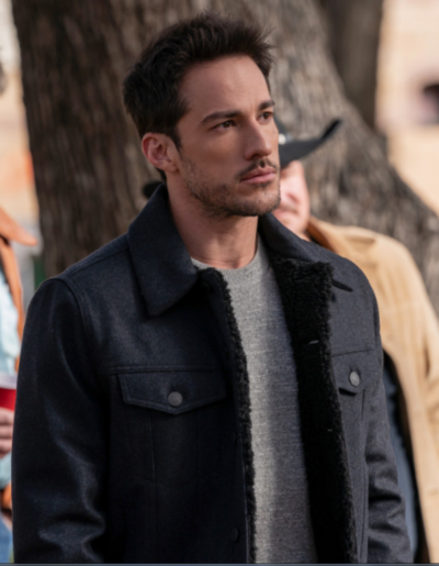 Roswell New Mexico Michael Trevino Black Jacket
