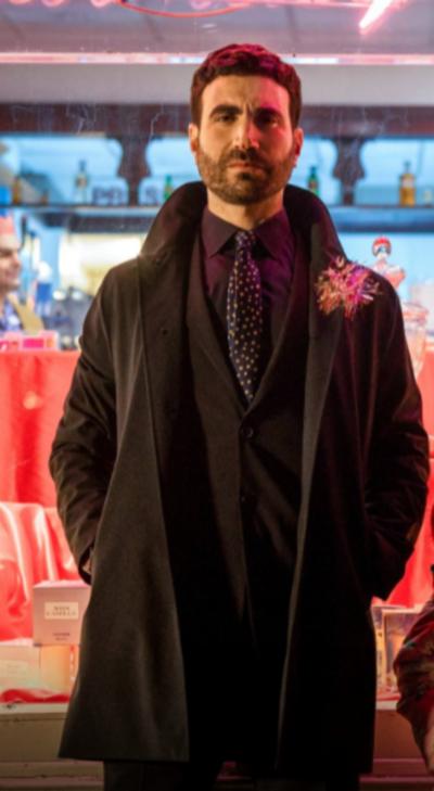 Ted Lasso Brett Goldstein Black Coat