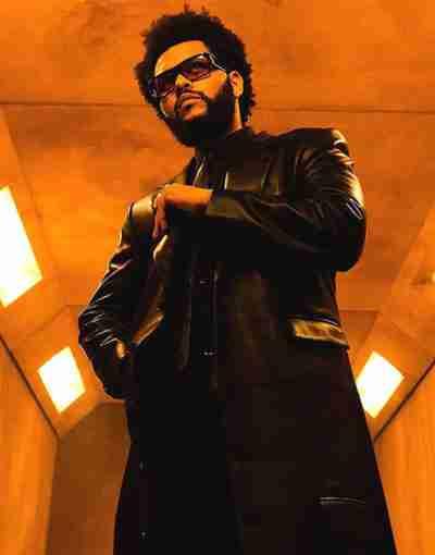 The Weeknd Take My Breath 2021 Black Coat