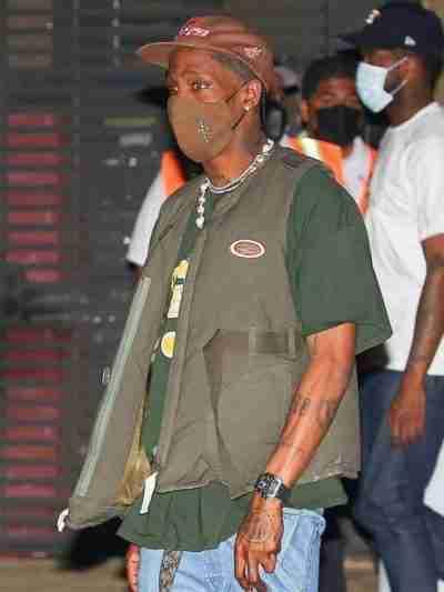 Travis Scott Olive Green Vest