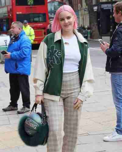 Anne Marie Our Song Green Jacket