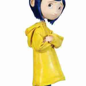 Coraline Yellow Halloween Rain Coat