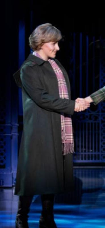 Diana Jeanna de Waal Black Coat