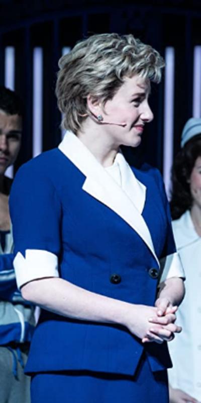 Diana the Musical Jeanna de Waal Blue Blazer