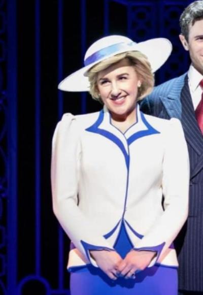 Diana the Musical Jeanna de Waal White Blazer