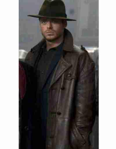 Eternals 2021 Richard Madden Brown Coat